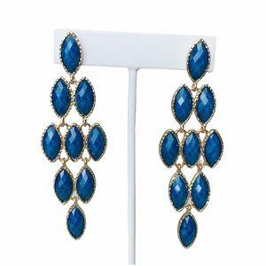 Amrita Singh Blue Lapis Easter Jacosta Earrings